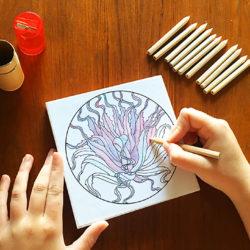 Coloring Kits and Coloring Panels