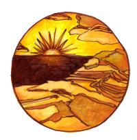 Rebecca Sunrise in Page Arizona Mandala