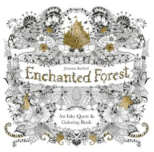 Basford The Enchanted Forest Coloring Book